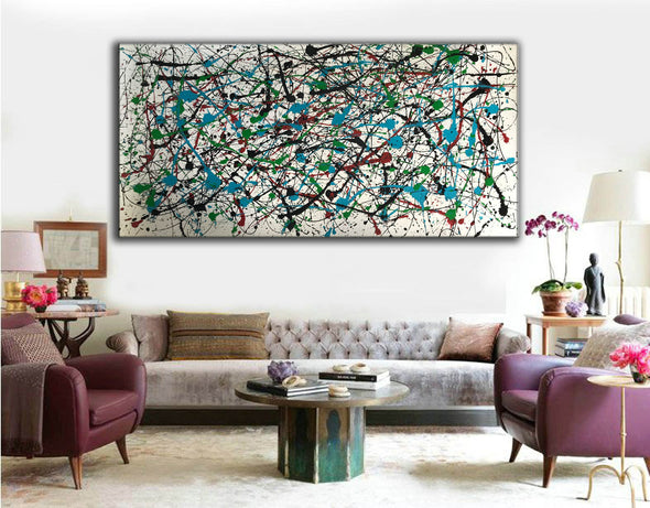 Abstract expressionism art | Abstract art paintings F66-10