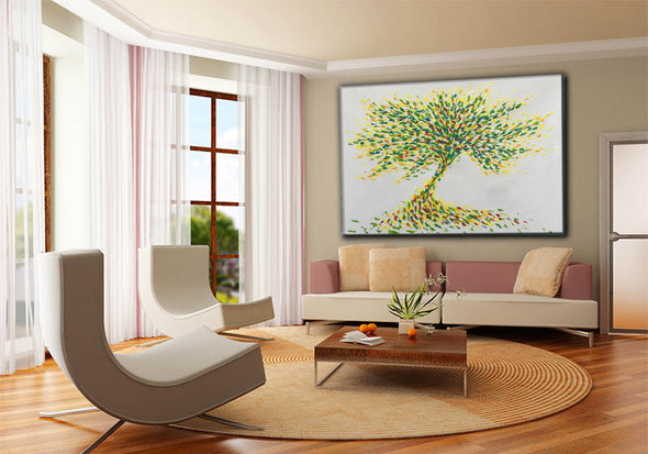 Large paintings | Canvas painting F175-2