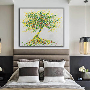 Large paintings | Canvas painting F175-3