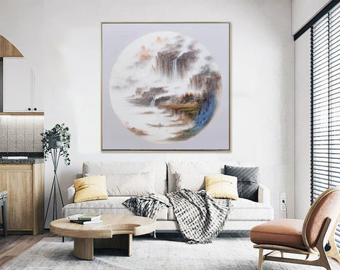 Modern abstract painting | Abstract wall art F279