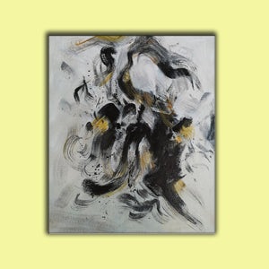 Abstract oil painting , Abstract art F194-3