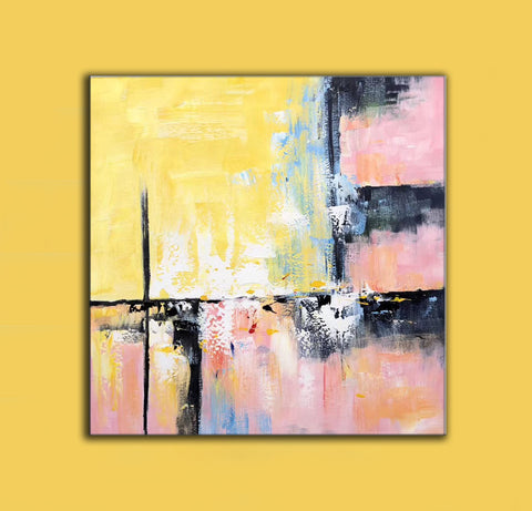 Image of Modern and contemporary art | Abstract oil painting on canvas F267-3
