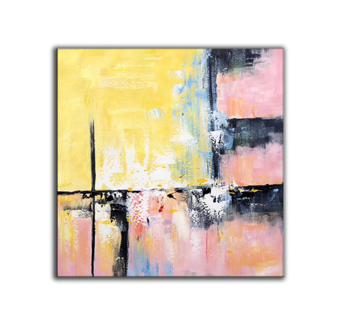 Image of Modern and contemporary art | Abstract oil painting on canvas F267-4