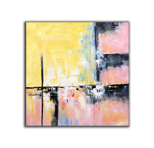 Modern and contemporary art | Abstract oil painting on canvas F267-4