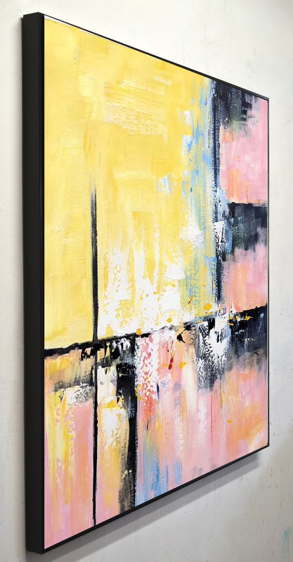 Modern and contemporary art | Abstract oil painting on canvas F267-7