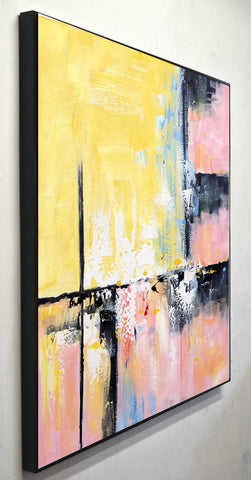 Image of Modern and contemporary art | Abstract oil painting on canvas F267-7