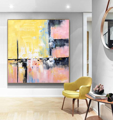 Image of Modern and contemporary art | Abstract oil painting on canvas F267-8