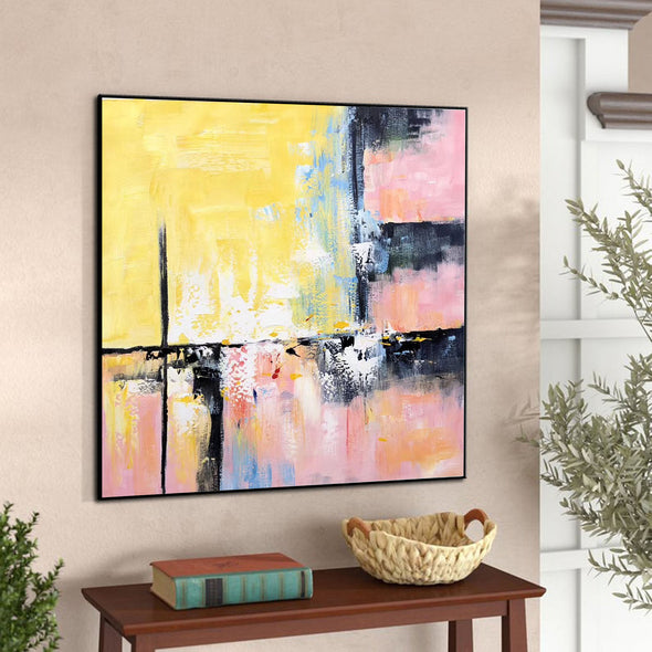 Modern and contemporary art | Abstract oil painting on canvas F267-9