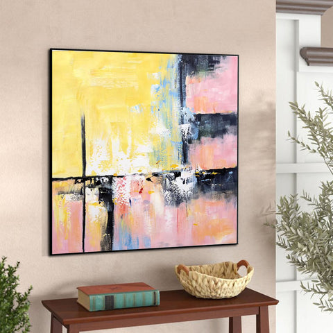 Image of Modern and contemporary art | Abstract oil painting on canvas F267-9