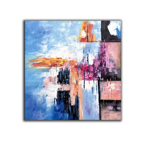 Image of Modern art oil painting, Abstract art canvas paintings F269-3