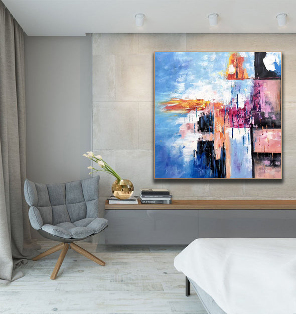 Famous oil painting | Abstract canvas painting F307-5