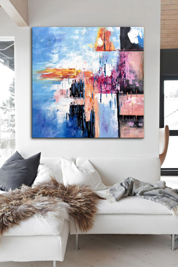 Famous oil painting | Abstract canvas painting F307-10
