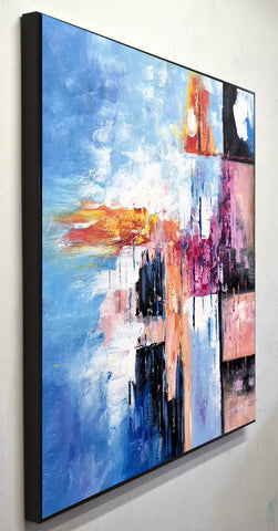 Modern art oil painting, Abstract art canvas paintings F269-8