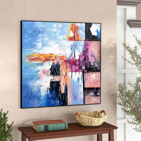 Image of Modern art oil painting, Abstract art canvas paintings F269-10