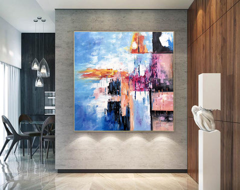 Image of Modern art oil painting, Abstract art canvas paintings F269-6