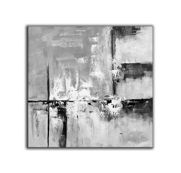 Abstract oil painting | Modern canvas art F309-4