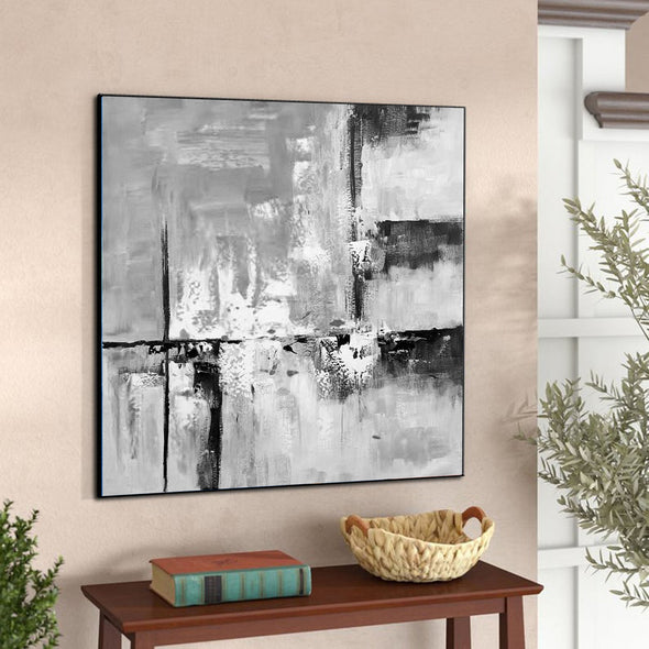 Abstract oil painting | Modern canvas art F309-3