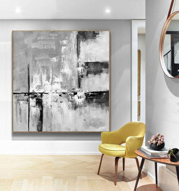 Modern abstract art | Large abstract painting F1-8