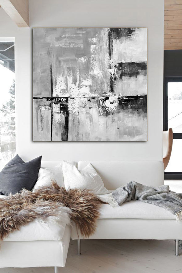 Modern abstract art | Large abstract painting F1-1