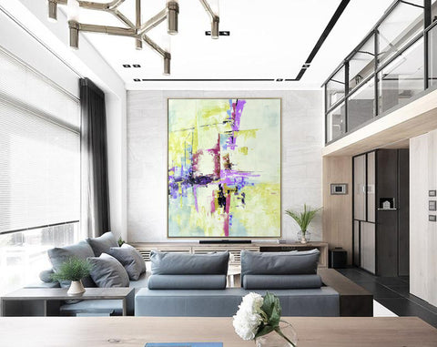 Modern abstract art | Large abstract painting F310-8