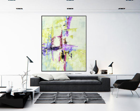 Modern abstract art | Large abstract painting F310-9