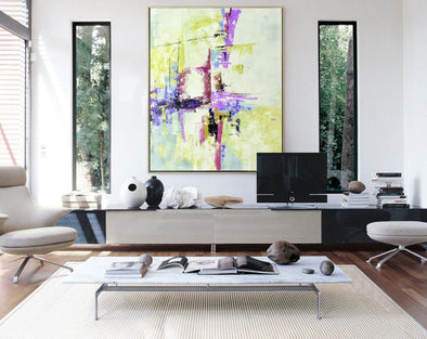 Modern abstract art | Large abstract painting F310-1