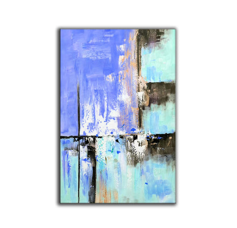 Abstract painting | Colorful paint F311-3