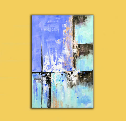 Abstract painting | Colorful paint F311-4
