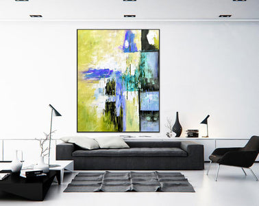 Original modern art, Abstract modern art paintings F268-1
