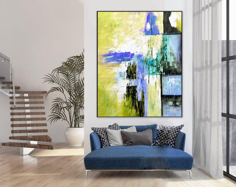 Original modern art, Abstract modern art paintings F268-2