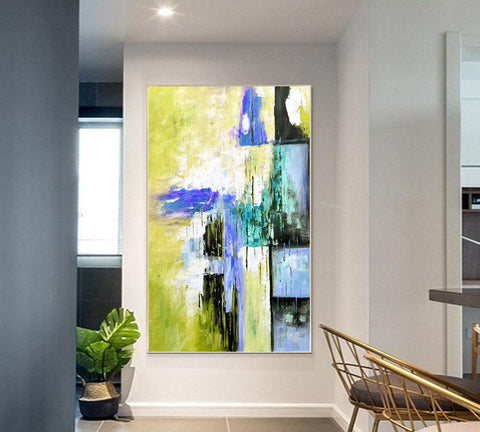 Versized wall art | Oversized abstract wall art F312-6