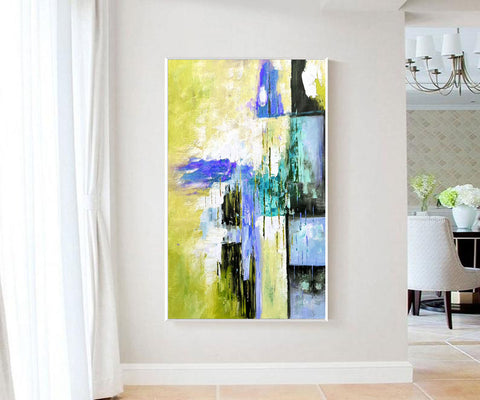 Original modern art, Abstract modern art paintings F268-8