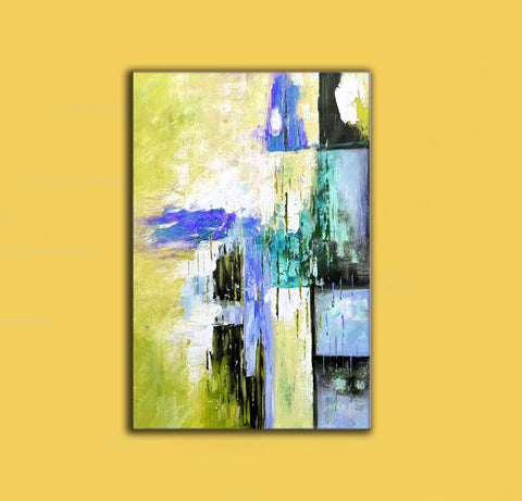 Image of Original modern art, Abstract modern art paintings F268-7