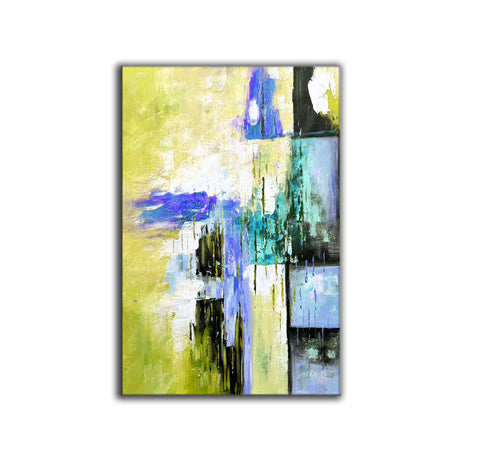 Original modern art, Abstract modern art paintings F268-6