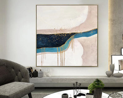 Large Original Abstract Oil Painting | Contemporary Art F322-1