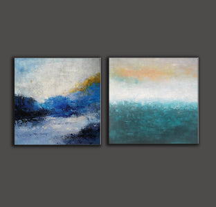 Abstract art  Modern art  Abstract painting F117-5