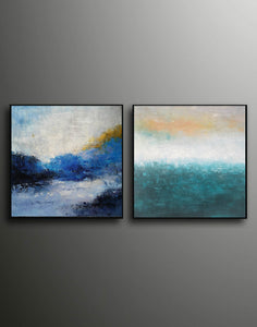 Abstract art  Modern art  Abstract painting F117-6
