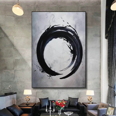 Abstract art paintings   Paint modern abstract art on canvas F192-8