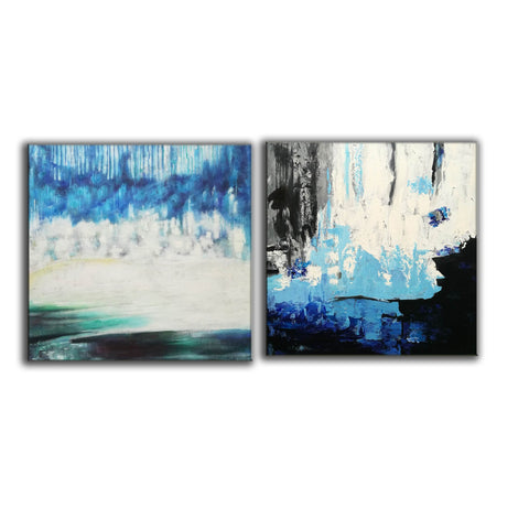 Image of Abstract modern art paintings   Abstract oil art paintings F130-6