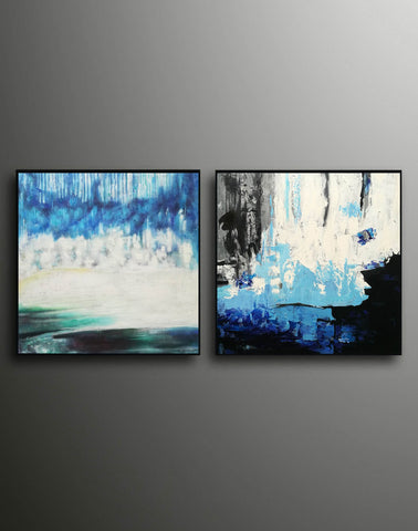 Image of Abstract modern art paintings   Abstract oil art paintings F130-10
