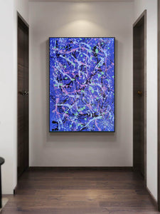 Abstract wall painting | Types of abstract art | Best abstract paintings F169-10