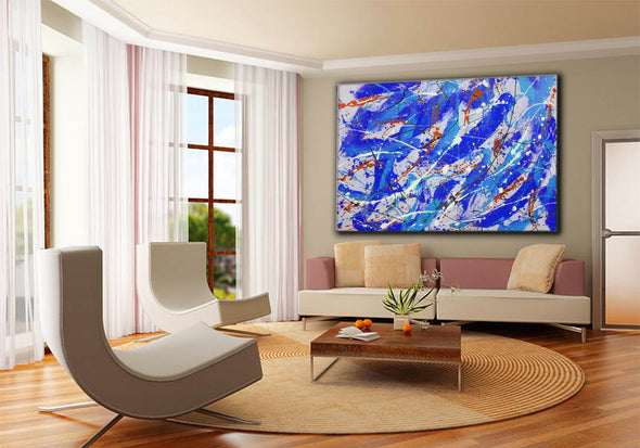 Modern oil paintings | Modern abstract painting F161-8