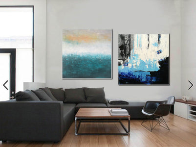 Abstrak painting  Paint modern abstract art F129-3