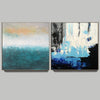 Abstrak painting  Paint modern abstract art F129-7