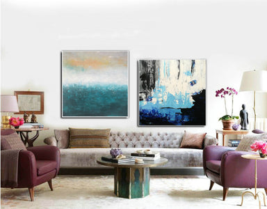 Abstrak painting  Paint modern abstract art F129-10
