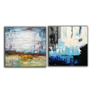 Acrylic abstract canvas  Abstract contemporary art paintings F131-6