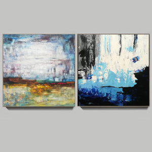 Acrylic abstract canvas  Abstract contemporary art paintings F131-8