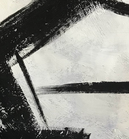 Image of Black and grey paintings | Black and white paintings F105-3