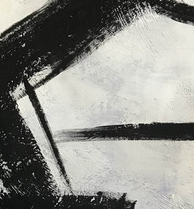 Black and grey paintings | Black and white paintings F105-3