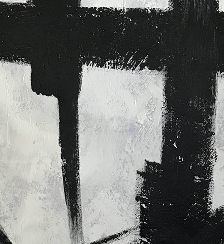 Image of Black and grey paintings | Black and white paintings F105-4